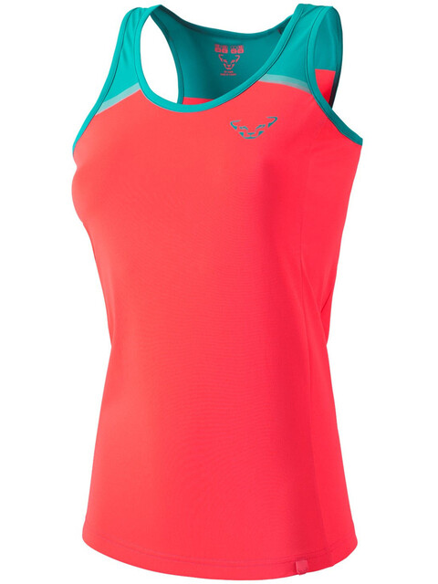 Dynafit Alpine Pro Koszulka do biegania bez rękawów Kobiety różowy/turkusowy